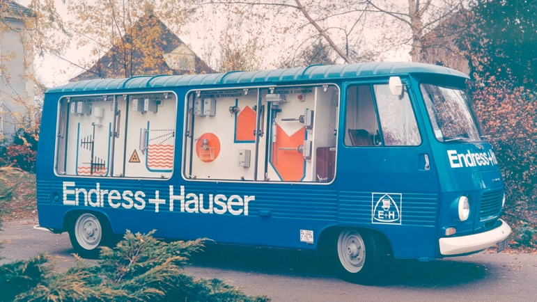 Six eventful decades: The history of Endress+Hauser