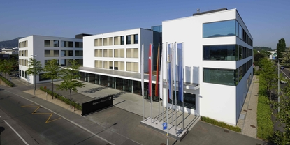 Endress+Hauser's main offices: the 'Sternenhof buidling' in Reinach, Switzerland