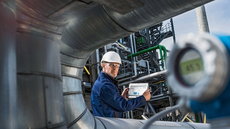 Increasing industrial digitalization provided additional impulses for Endress+Hauser in 2018.
