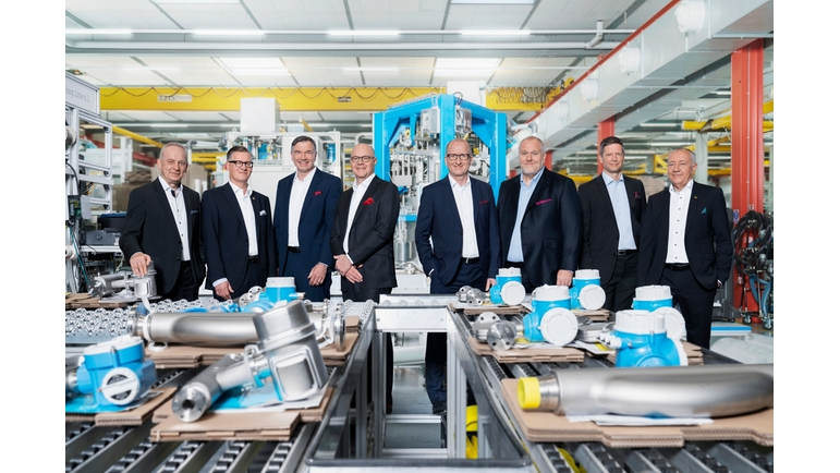 The members of the Endress+Hauser Executive Board.