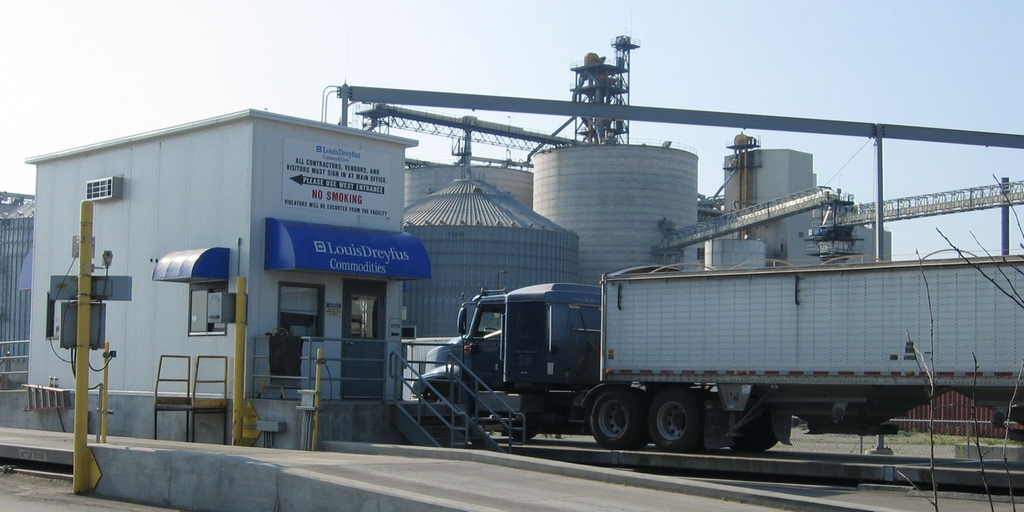 Impianto di biodiesel di Louis Dreyfus Commodities a Claypool, Indiana, Stati Uniti