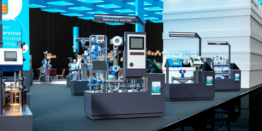 Stand virtuale Endress+Hauser 2020